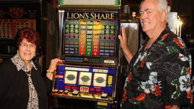 Jackpot sur Lion's Share