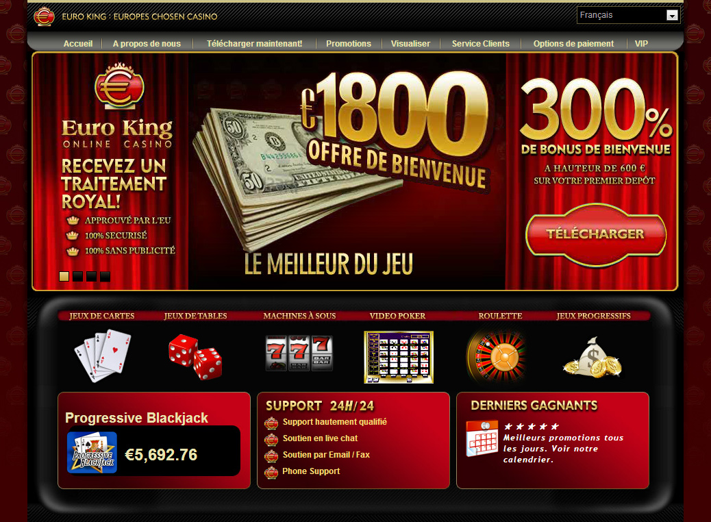 Euroking casino sans telechargement free poker rooms no download