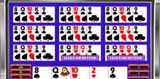 Multihand Double Jackpot Poker