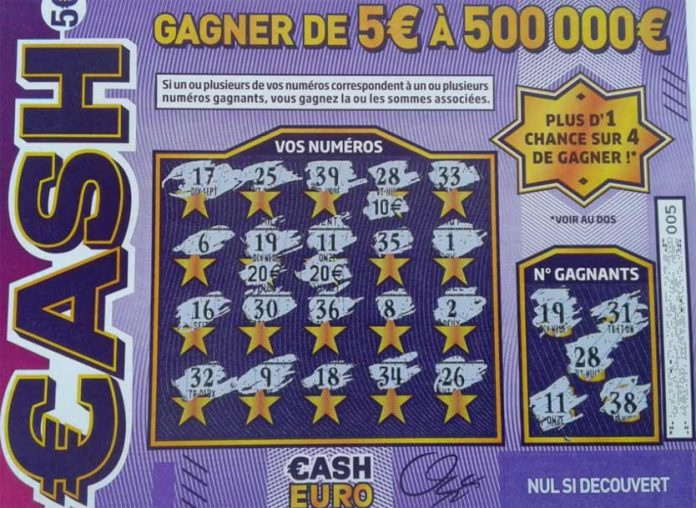 Jeu de grattage Cash
