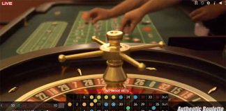 Roulette d'Authentic Gaming